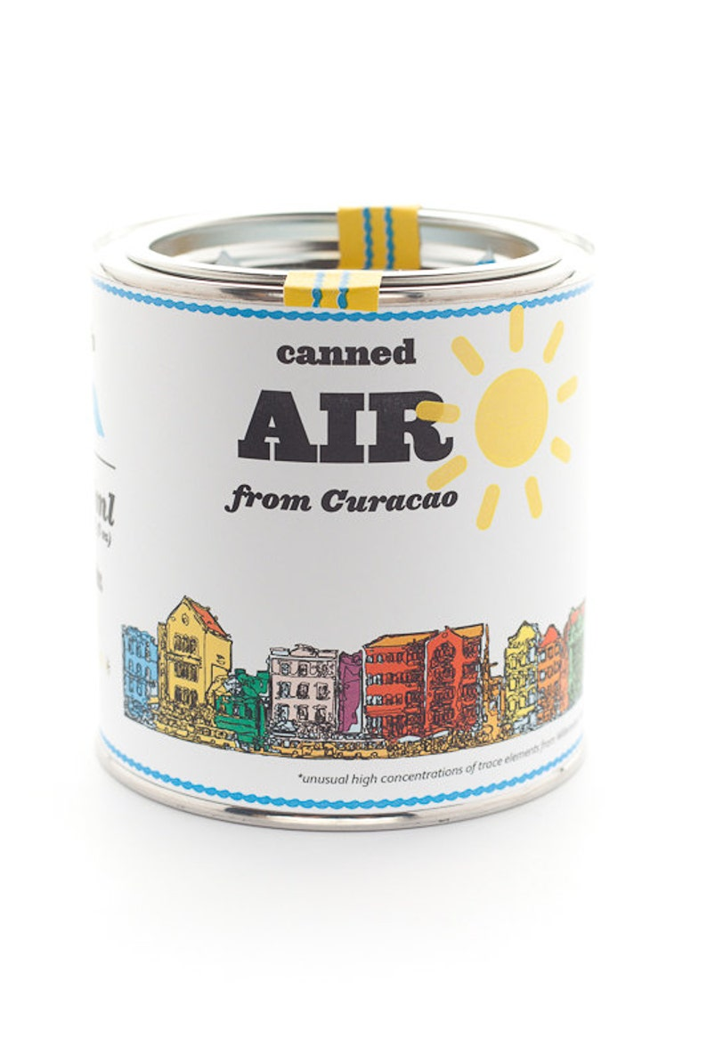 Original Canned Air From Curacao gag souvenir gift image 0
