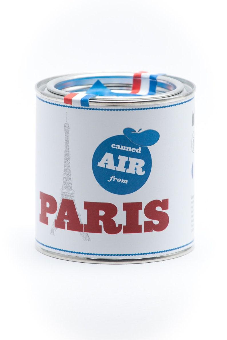 Original Canned Air From Paris gag souvenir gift image 0