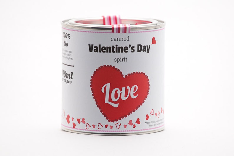 Original Canned Valentine's Day Spirit gag souvenir image 0