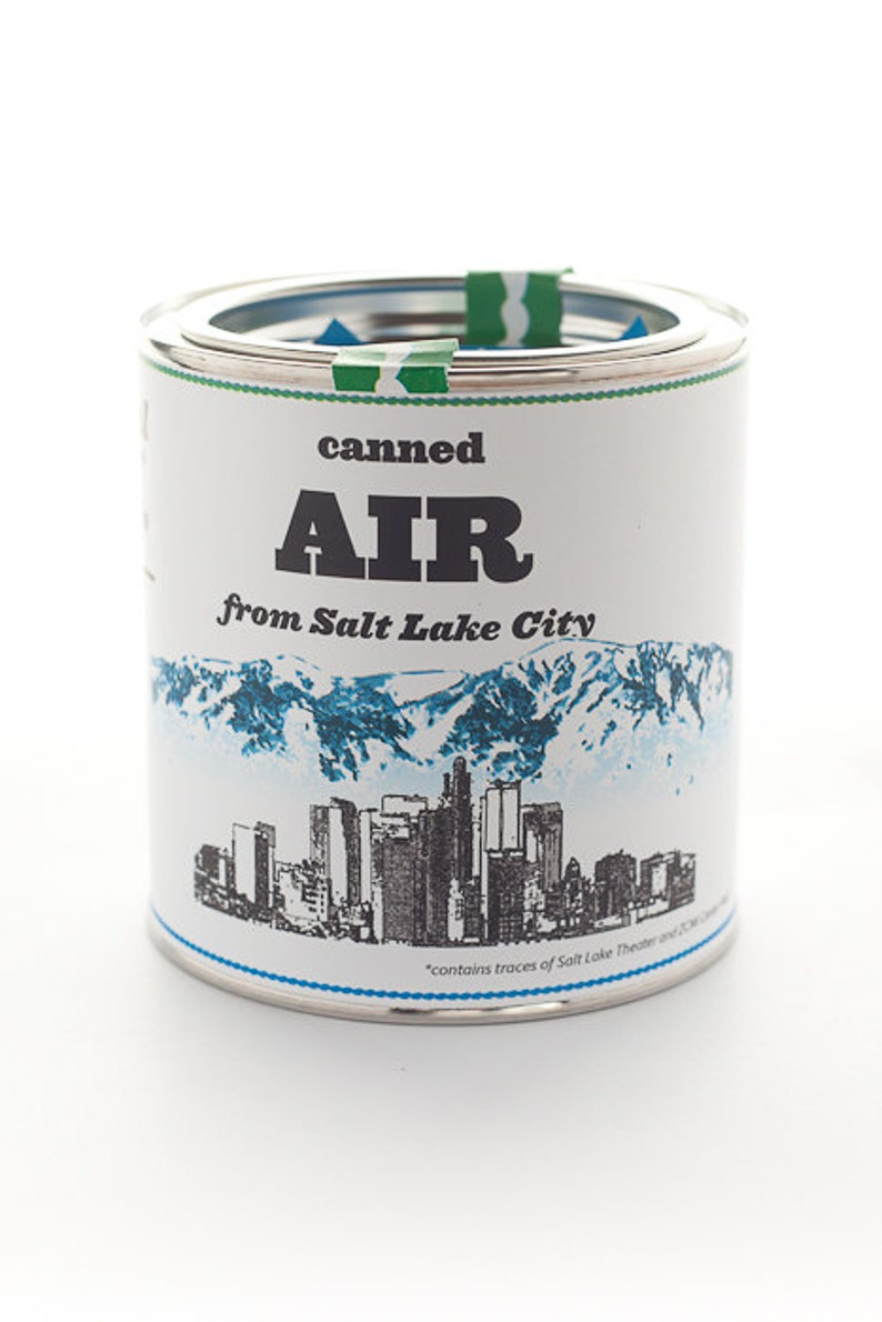 Original Canned Air From Salt Lake City image 0