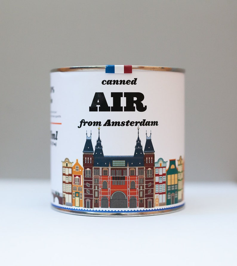 Original Canned Air From Amsterdam Netherlands gag souvenir image 0