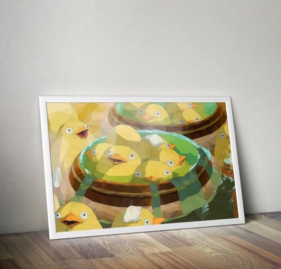 Duck Duck Bath Studio Ghibli And Spirited Away Inspired Etsy