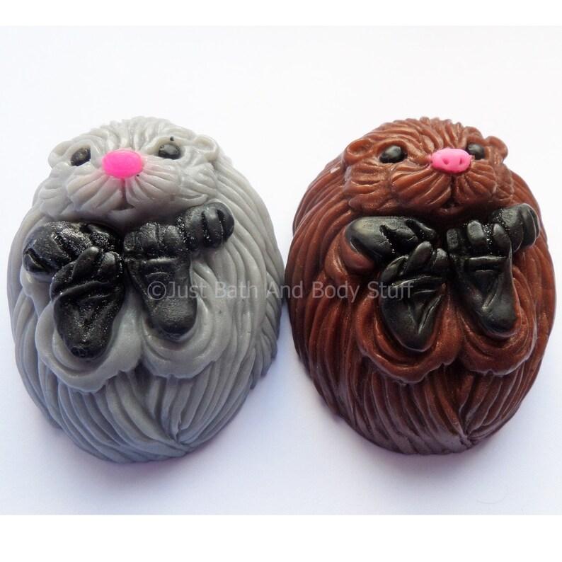 Hedgehog Soap Novelty Animal Shaped Bath Soap Bar Custom image 0
