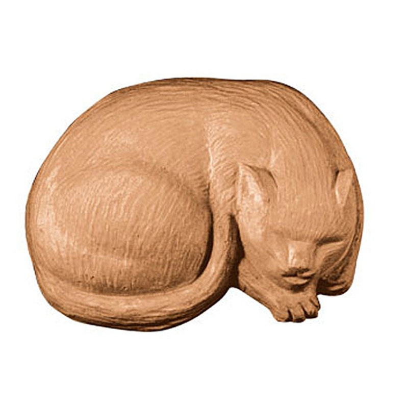 Sleeping Cat Soap Novelty Animal Shaped Bath Soap 4 oz image 0