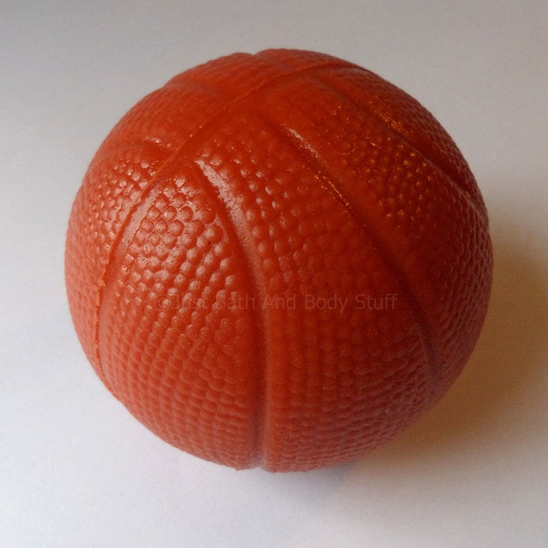 Basketball Soap Round 3D Soap Sports Soap Novelty Soap image 0