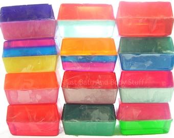 Soap Bar Set, Bulk Soap, Lot Soap, Handmade Glycerin Soap, 3.75 oz Soap Bars, You pick the scents
