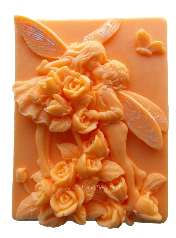 Fairy Soap Kissing Fairies Novelty Bath Soap Custom Color & image 0