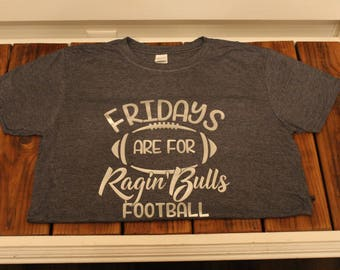 Hickory Ridge Ragin' Bulls Football Shirt Friday Nights