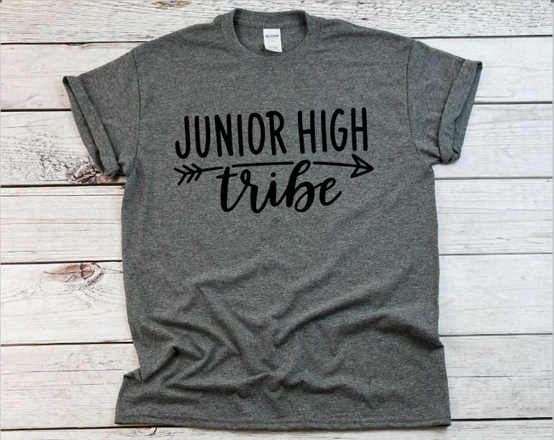 SALE Junior High Tribe Teacher Shirt also Plus Sizes image 0