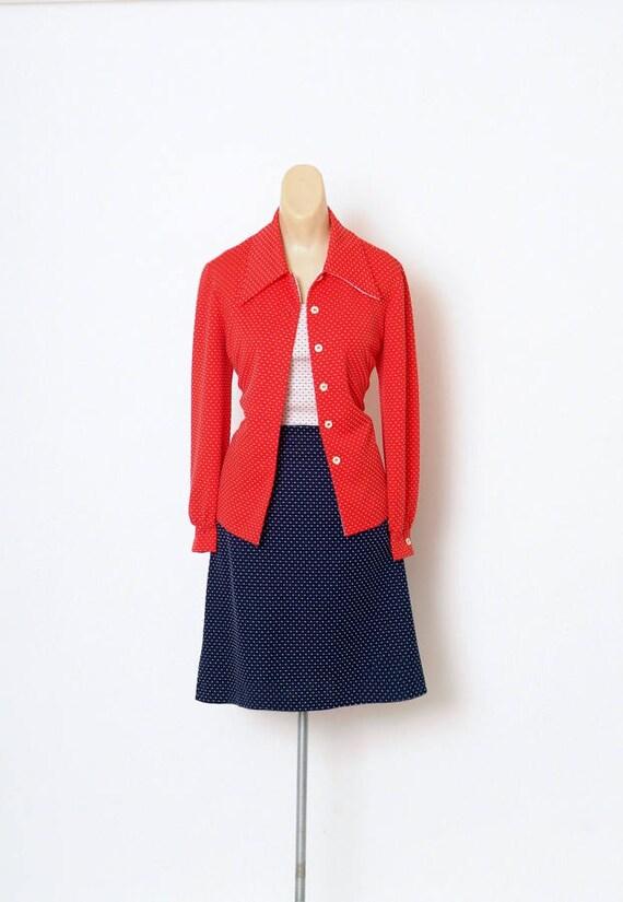 Vintage Dress - Vintage 60s Dress - Mod Dress - 2… - image 1
