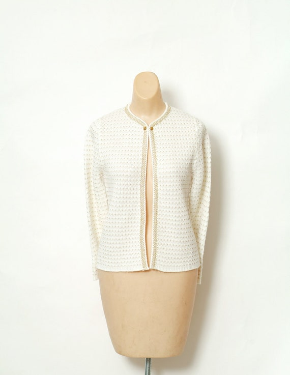 Vintage 50s sweater / Pin up Sweater / Retro / But