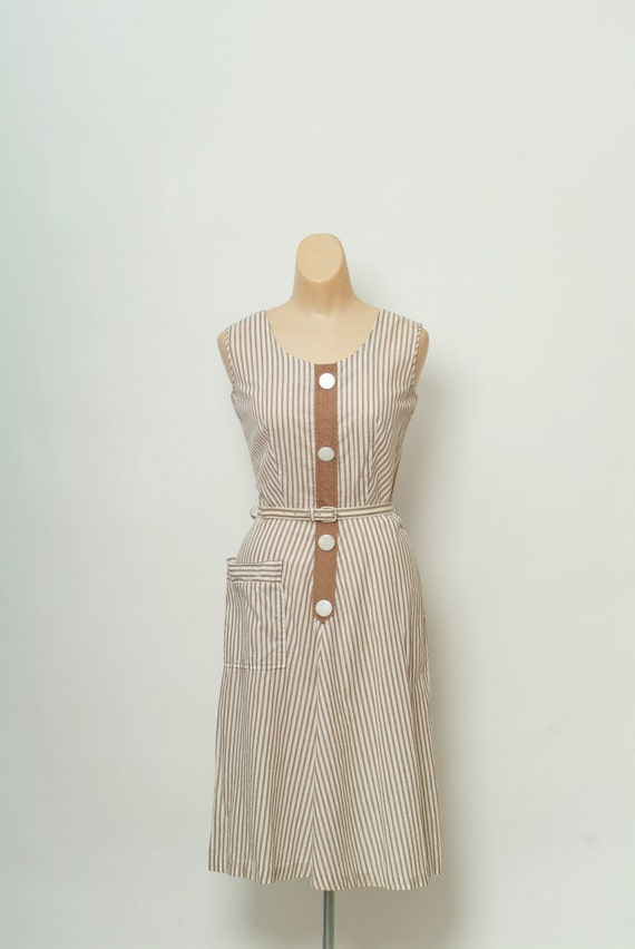 Vintage 1950s dress / 50s Dress / 40s Dress / 40s