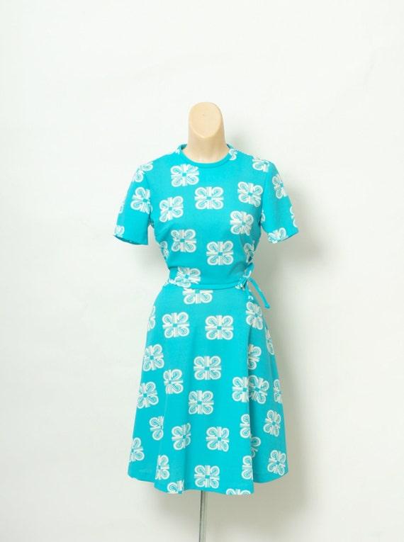 Vintage Dress / 60s Dress / Mod Dress / Women's cl