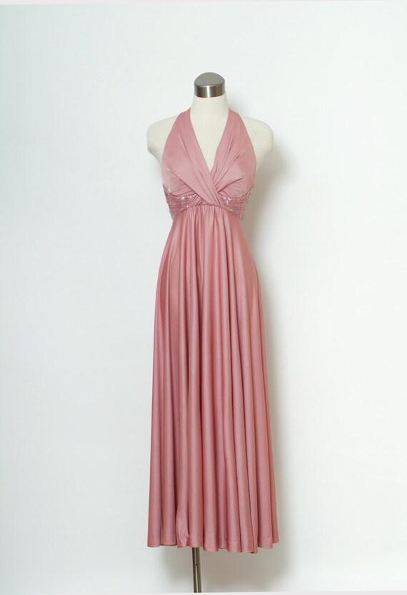 Vintage 70s Dress / 70s Dress / Cocktail Dress Par
