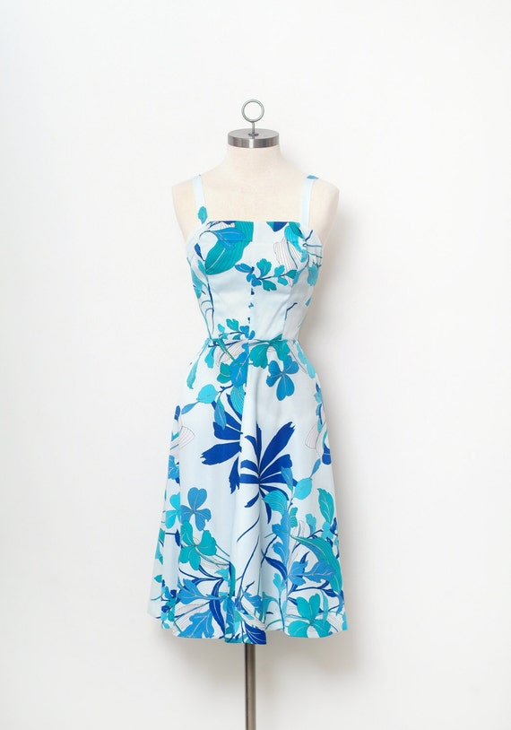 Vintage 60s Robe Hawaienne Robe De Soiree Tiki Robe Etsy