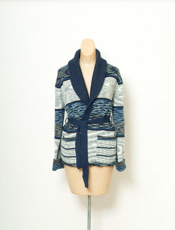 Vintage Sweater / Bohemian Sweater / Medium / Knit