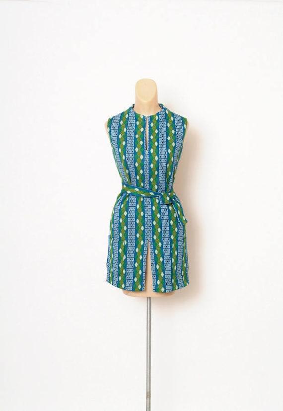 Vintage 60s Shirt Dress - Vintage - 60s Mod Dress