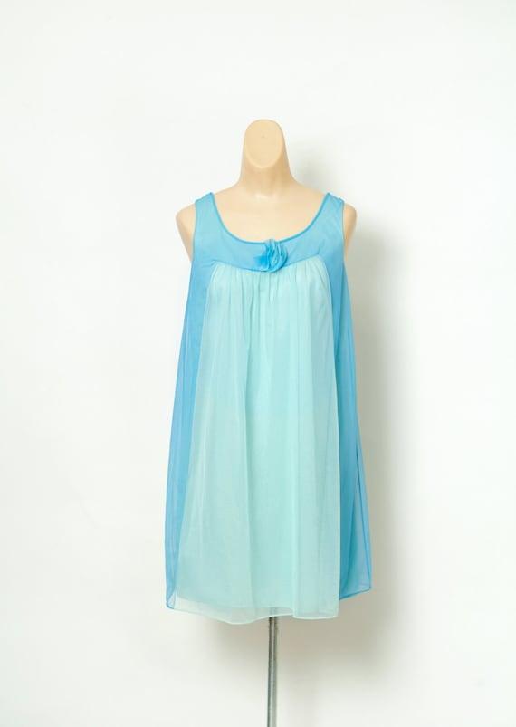 60s nightgown / Vintage babydoll / Retro / Vintage