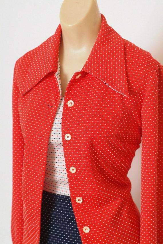 Vintage Dress - Vintage 60s Dress - Mod Dress - 2… - image 7