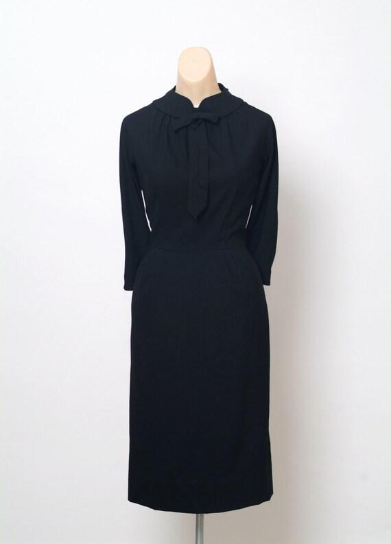 Vintage 50s Dress / 50s Dress Cocktail / Dress Par