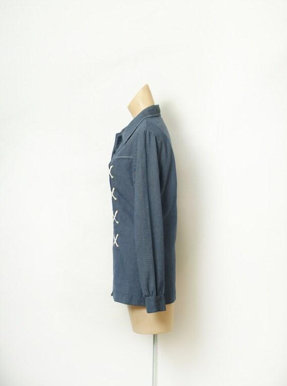Vintage 60s  Shirt / Top / Vintage shirt / Vintag… - image 5