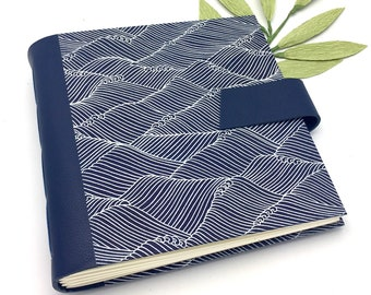 Navy Scrapbook Album - 8x8 inch - Personalize It