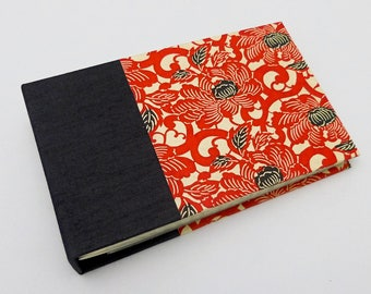 Mini Photo Album, Black and Red, 36 4x6 photos, In Stock