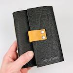 Handbound Bourbon Tasting Notebook, Rugged Bison Leather