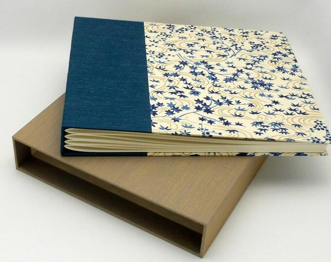 8x10 Photo Album Scrapbook with Slipcase, In Stock