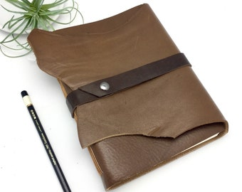 Leather Art Journal - In Stock
