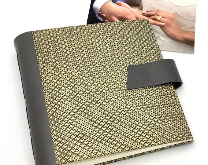 Wedding Scrapbook Album - 8x8 inch - Personalize It