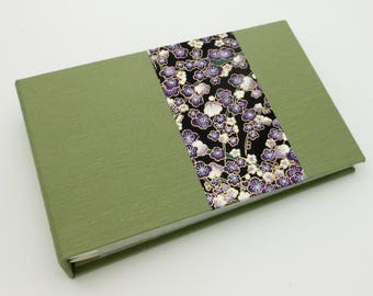 Mini Photo Album in Bright Sage - Made to Order for 4x6 photos