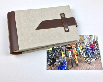 Mini Photo Album with Sleeves for 4x6 photos / Personalize it