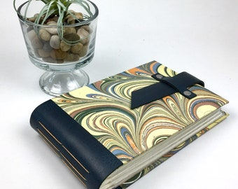 4x6 Marbled Mini Photo Album with Sleeves / Title Card Available