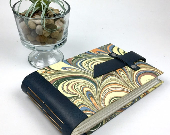 Featured listing image: 4x6 Marbled Mini Photo Album with Sleeves / Title Card Available