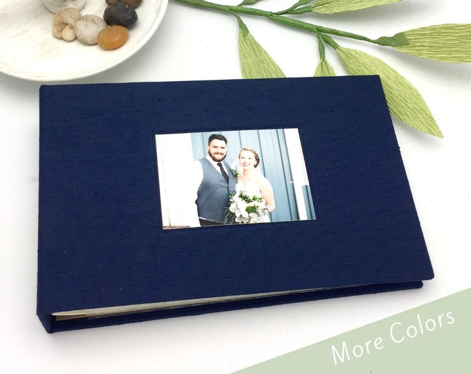 Featured listing image: Custom Mini Photo Album with Cover Photo - Made to Order for 4x6 photos