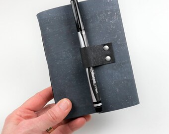 Vegan Bourbon Tasting Notebook, Gray Cork