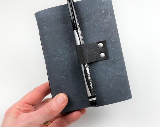 Vegan Bourbon Tasting Notebook, Gray Cork