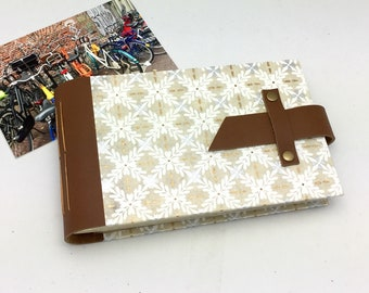 4x6 Mini Photo Album with Sleeves / Personalize it