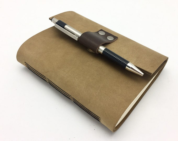 Bourbon Tasting Journal - Water-Resistant Leather - In Stock