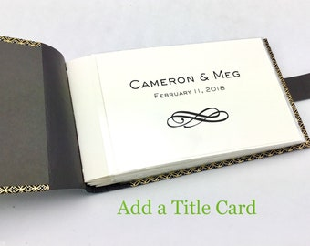 Title Card for Mini Photo Album
