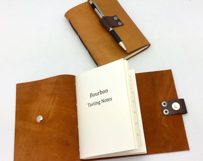 Bourbon Tasting Journal - Butterscotch Leather - In Stock