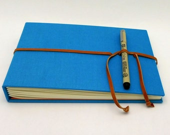Hardcover Sketch Book - Art Journal - Cerulean Blue
