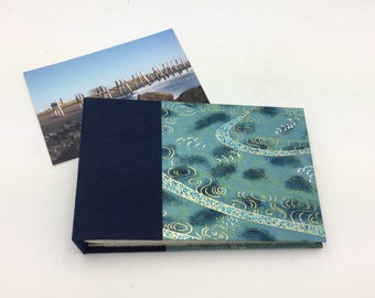 Mini Photo Album, Teal Waves, holds 36 4x6 photos, In Stock