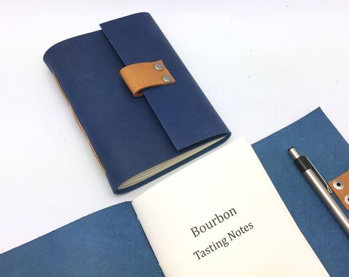 Bourbon Tasting Journal - Sapphire Blue