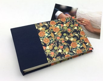Mini Photo Album, Vintage Floral, holds 36 4x6 photos, In Stock
