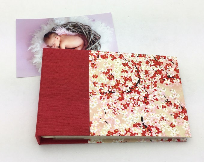 Mini Photo Album, Red and Pink, 36 4x6 photos, In Stock