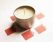 Gasoline Scented Candle - Vegan Candle - Homemade Candles - Natural Candles - Tin Candle - Container Candle - Holiday