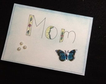 Handmade Mothers Day Card-Mothers Day Card