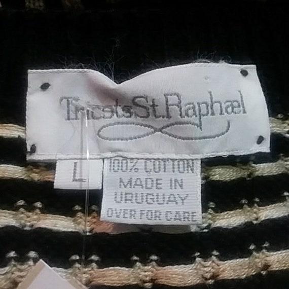 Vintage Tricots St Raphael cardigan cotton men's … - image 4
